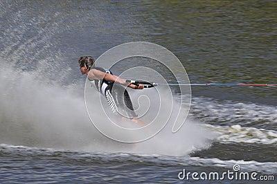 Barefoot Water Skier 01
