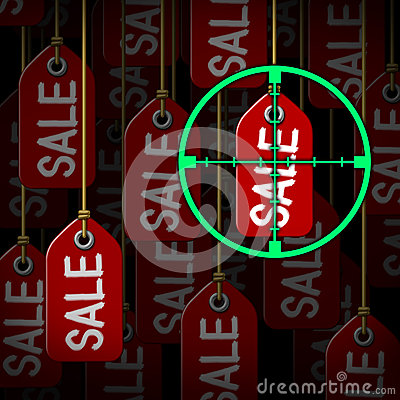 Bargain Hunter Royalty Free Stock Photos - Image: 36678898