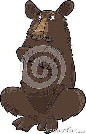 Baribal American black bear