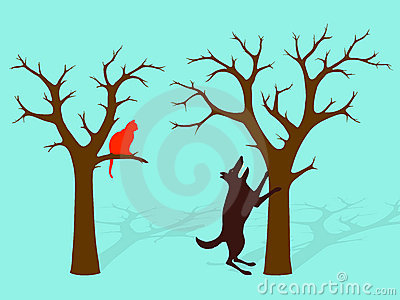 Barking Up The Wrong Tree Idiom