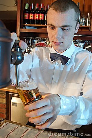 Free Barman Stock Image - 1331481