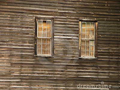 Barn - boarded up window