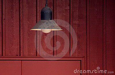 Barn Door Lamp