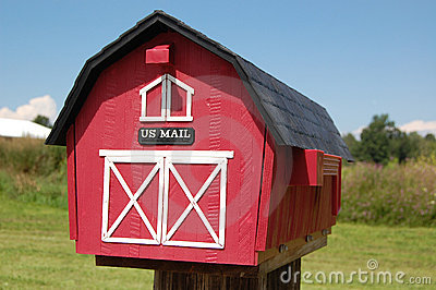 Barn Mailbox Stock Photography - Image: 6857152