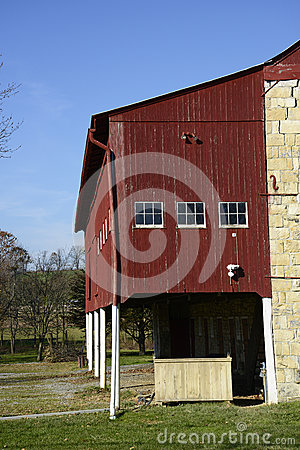 Barn in rural Pennsylvania