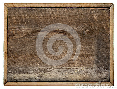 Barn wood board