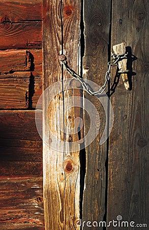 Barndoor lock