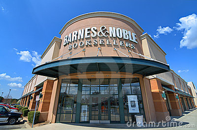 Barnes and Noble Booksellers Editorial Stock Photo