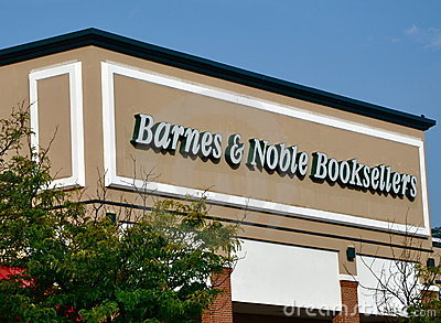 Barnes & Noble Booksellers store Editorial Stock Photo