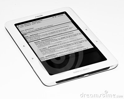Barnes and Noble Nook Editorial Stock Photo