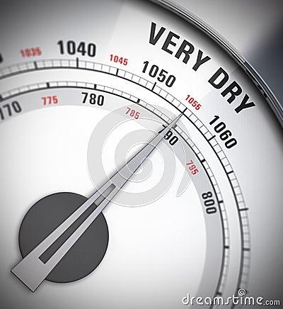 Barometer, heat wave
