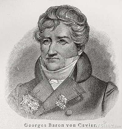 Baron Georges Cuvier Editorial Image