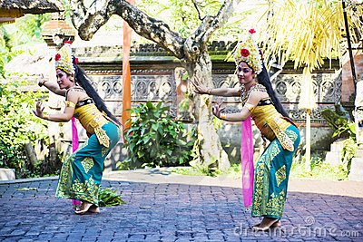 Barong Dance, Bali, Indonesia Editorial Image
