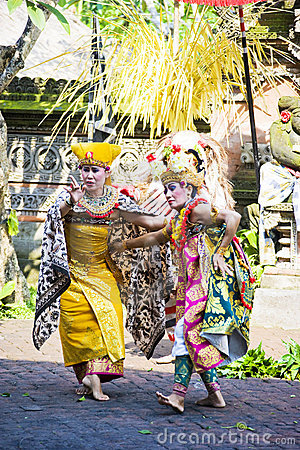 Barong Dance, Bali, Indonesia Editorial Photo