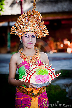 Barong Dancer. Bali, Indonesia Editorial Photography