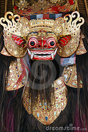 Free Barong The Benevolent Beast Royalty Free Stock Photos - 20416488