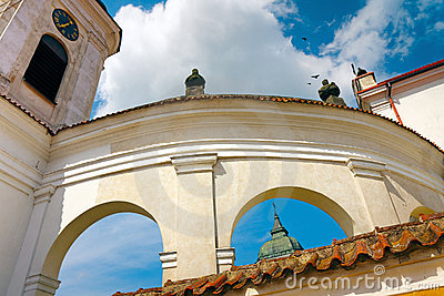 Baroque Arches of Church in Tykocin