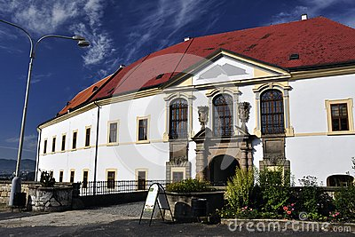 Baroque castle in Decin