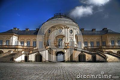 Baroque castle HDR