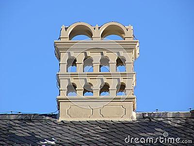 Baroque chimney