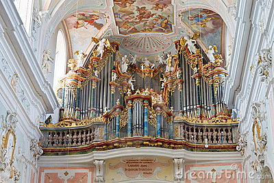 Baroque Church Organ