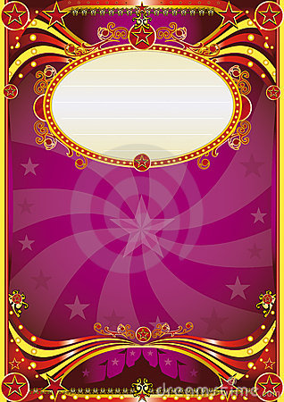 Free Baroque Circus Background Stock Images - 10325744