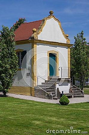 Baroque garden house