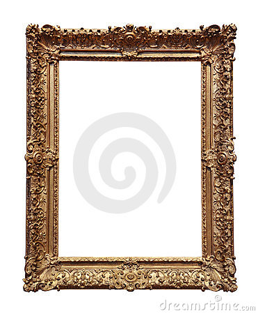 Free Baroque Gold Frame Stock Photo - 6302330