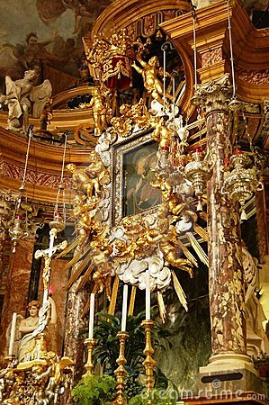 Baroque high altar