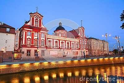 Baroque library in Wroclaw