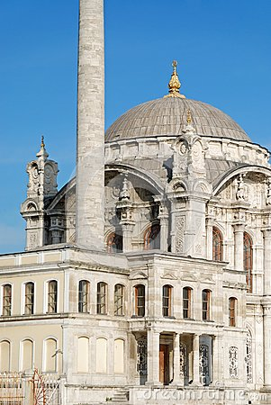 Baroque Mosque, Istanbul Royalty Free Stock Photography - Image: 4911447