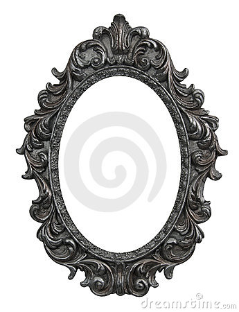 Free Baroque Oval Frame Royalty Free Stock Photos - 22094238