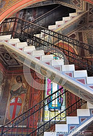 Baroque staircase