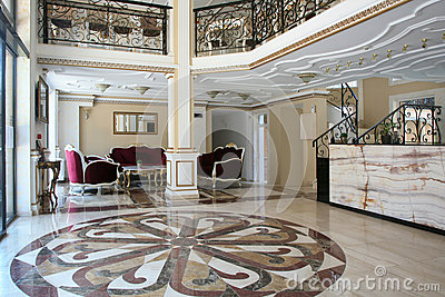 Baroque Style Hotel Interior Design