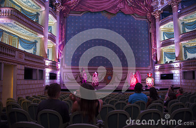Baroque theater Editorial Image
