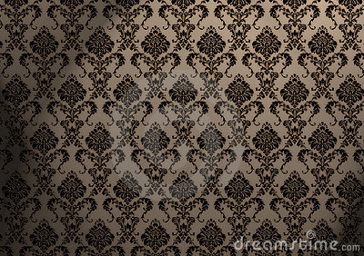 Baroque wallpaper stock photos image 2741603 for Baroque style wallpaper