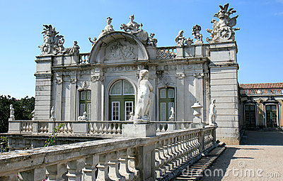 Baroque wing and statuary, Queluz National Palace