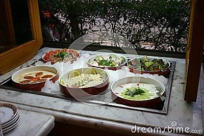 Barra da salada