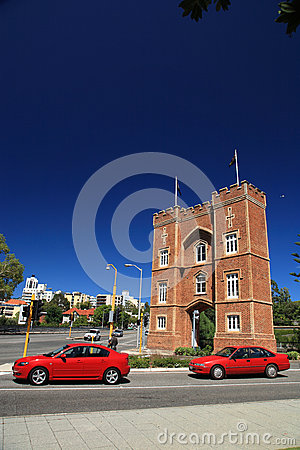 The Barracks Arch,Perth,Western Australia Editorial Photography