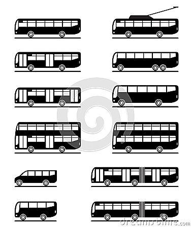 Barramentos e ônibus