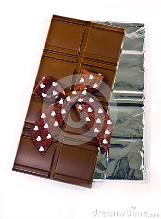 Barras de chocolate