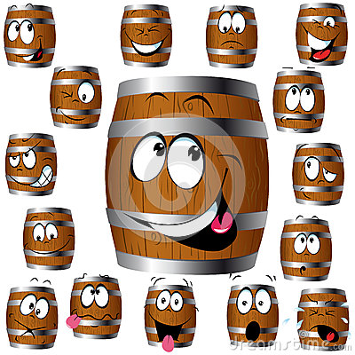 Barrel cartoon
