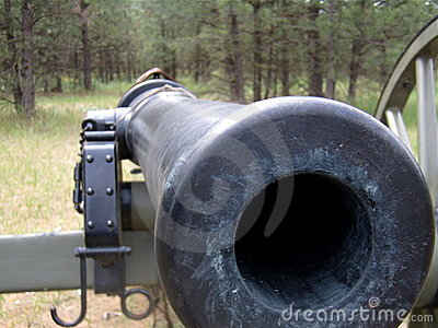 Barrel of Civil War Cannon