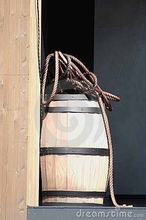 Barrel and rope