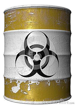 Barrel of toxic waste