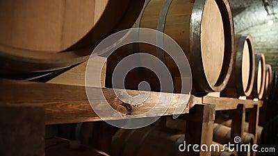 Barrels_012 stock footage