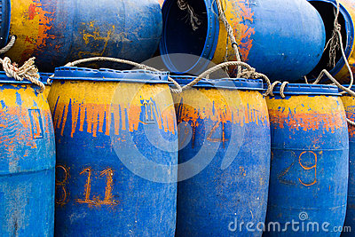 Barrels of oil