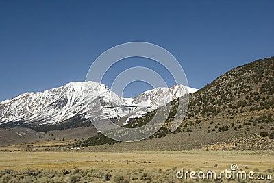 Barren landscape in Sierra Nevada