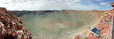 Barringer Crater Panorama