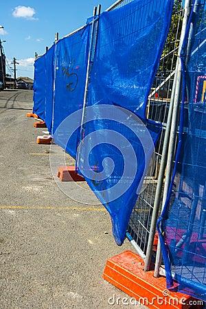 Barrière de construction